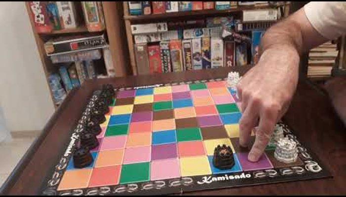 Kamisado loosing first moves